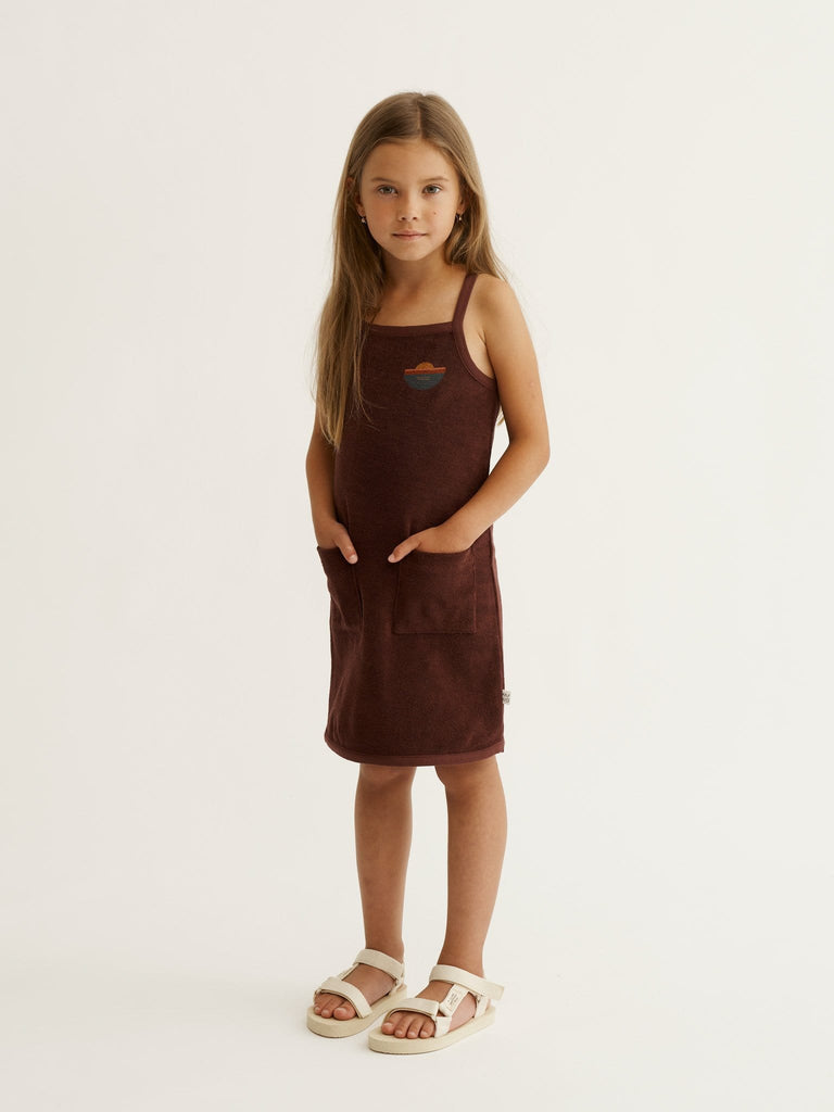 Mainio Dress Jellybeanzkids Mainio Crew Terry Dress