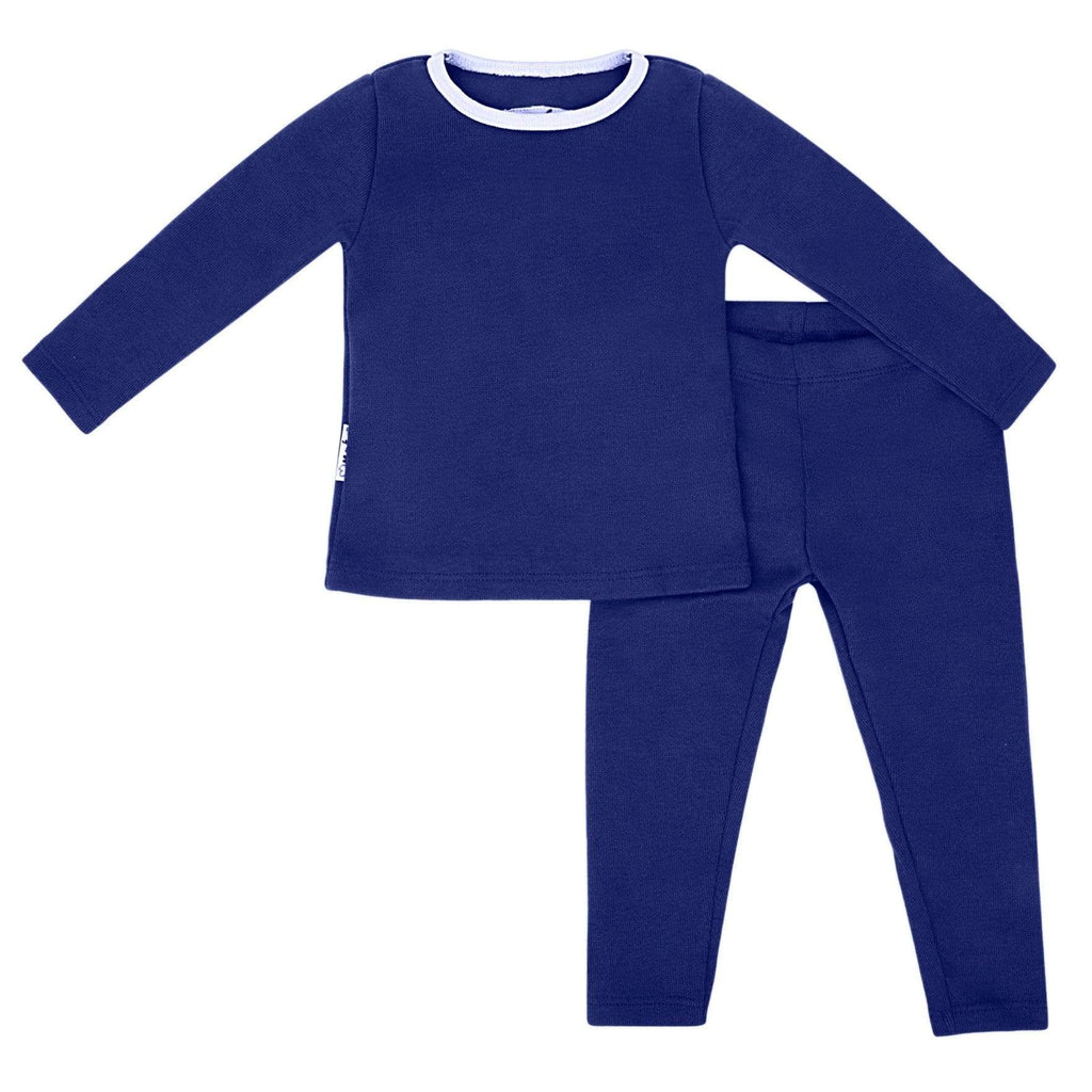 Maniere Set Jellybeanzkids Maniere Basic Blue Two Piece Set