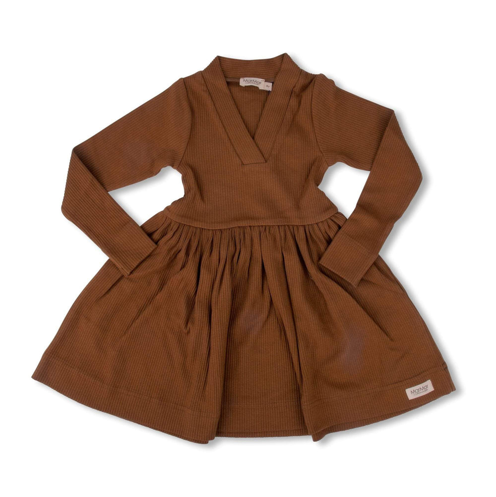 MarMar Copenhagen Dress Jellybeanzkids MarMar Brown Dress