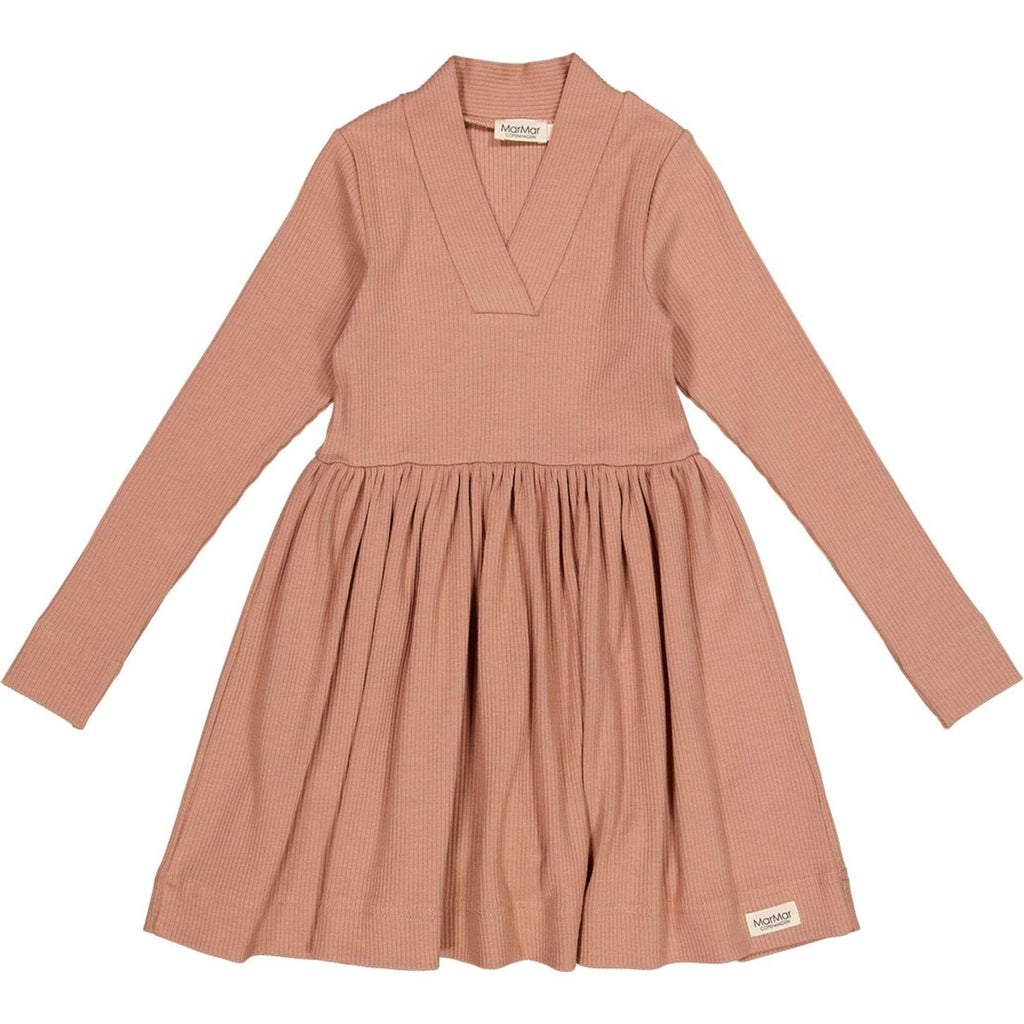 MarMar Copenhagen Dress Jellybeanzkids MarMar Rose Brown Dress