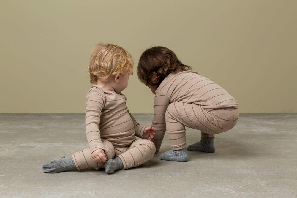 MarMar Copenhagen Set Jellybeanzkids MarMar Sand Striped Set