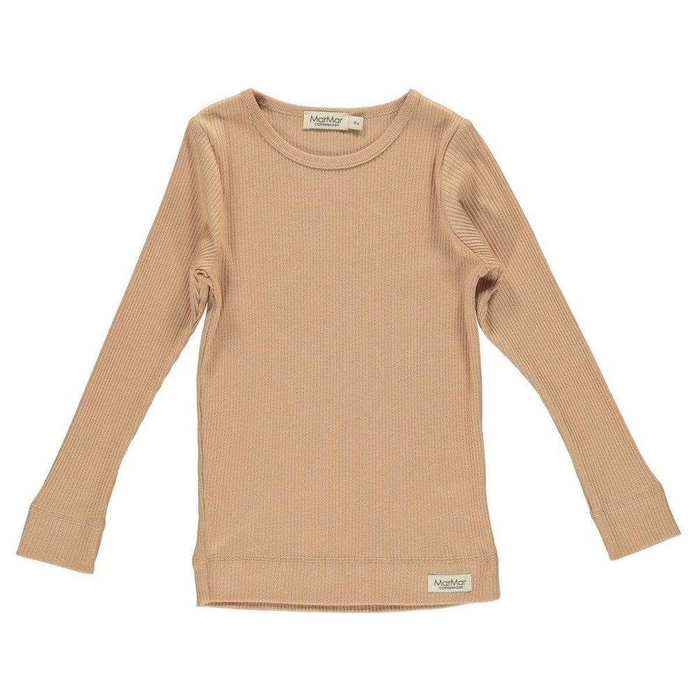 MarMar Rose Ribbed LS T-Shirt - JellyBeanz Kids