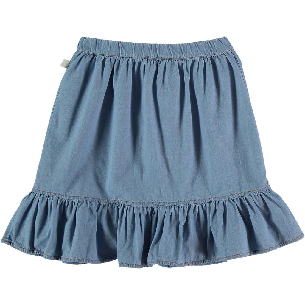 My Little Cozmo Skirt Jellybeanzkids My Little Cozmo Chambray Skirt