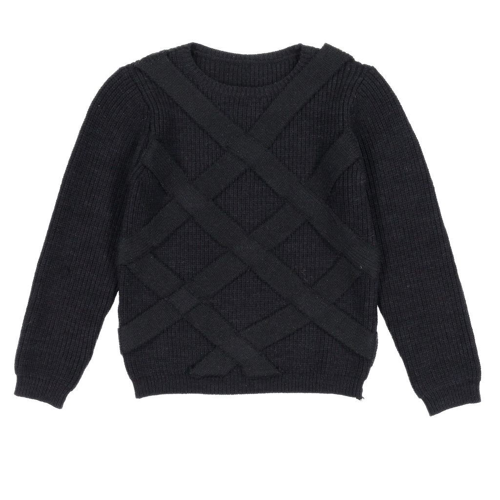 Nove Sweater Jellybeanzkids Nove Lattice Sweater