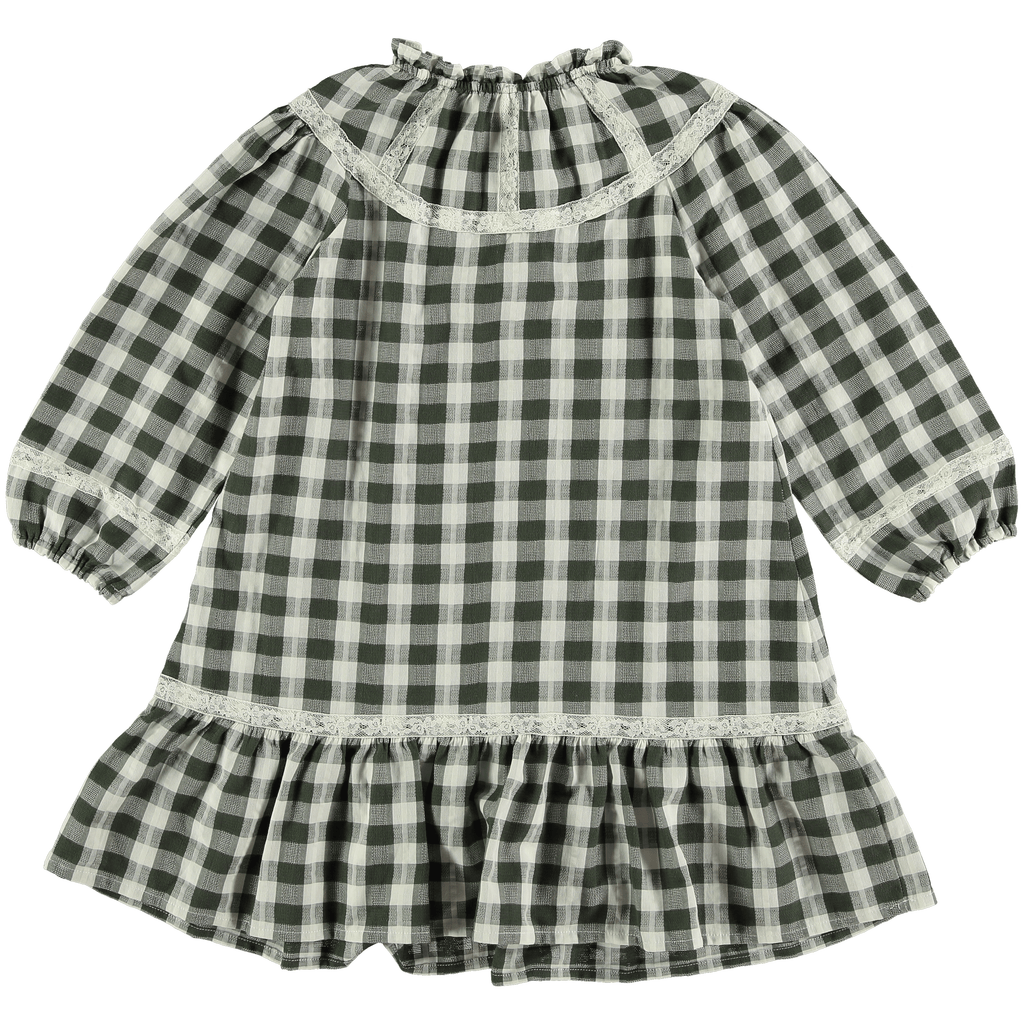 Nuttwig Dress Jellybeanzkids Nuttwig Moss Countryside Check Dress