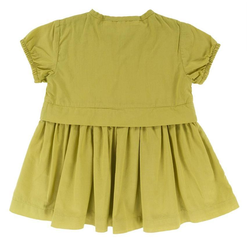 Omibia Lime Duchess Dress  JellyBeanz Kids