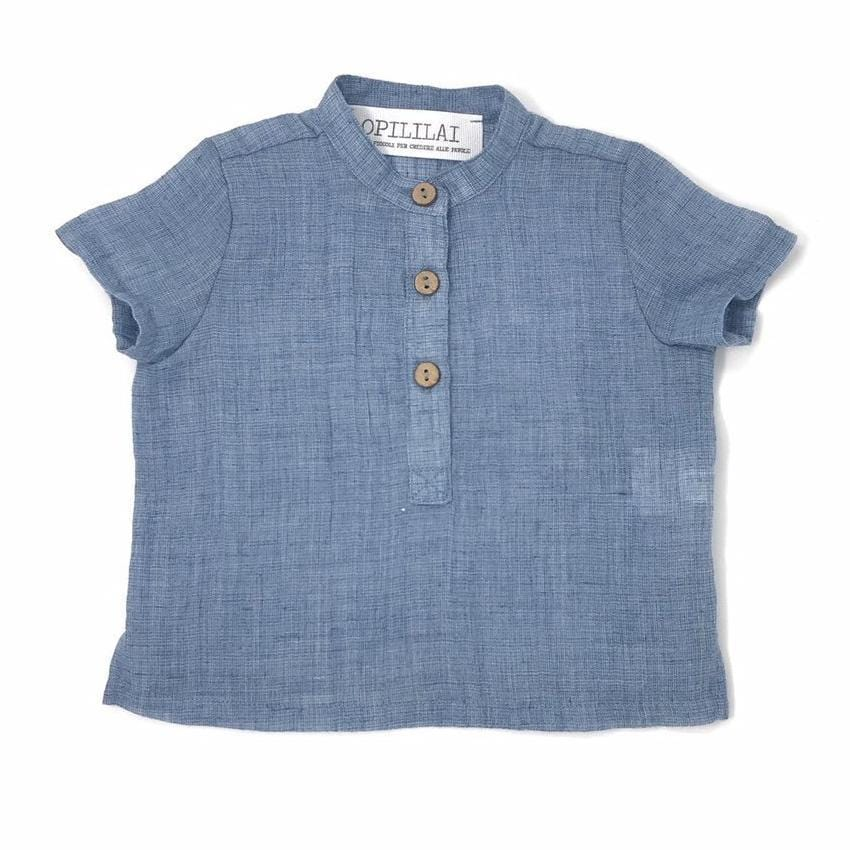 Light Blue Shirt - JellyBeanz Kids
