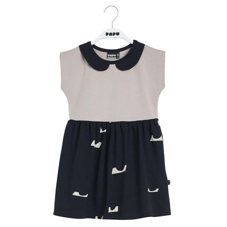 Papu Dress Jellybeanzkids Penny Collar Dress
