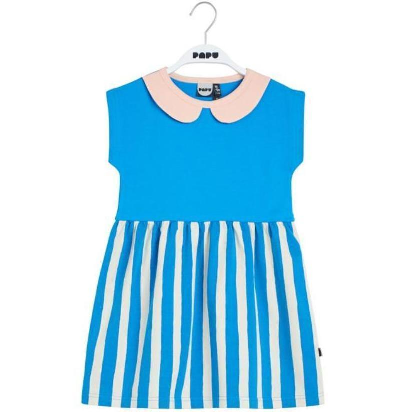 Papu Paris Stripe Penny Collar Dress  JellyBeanz Kids