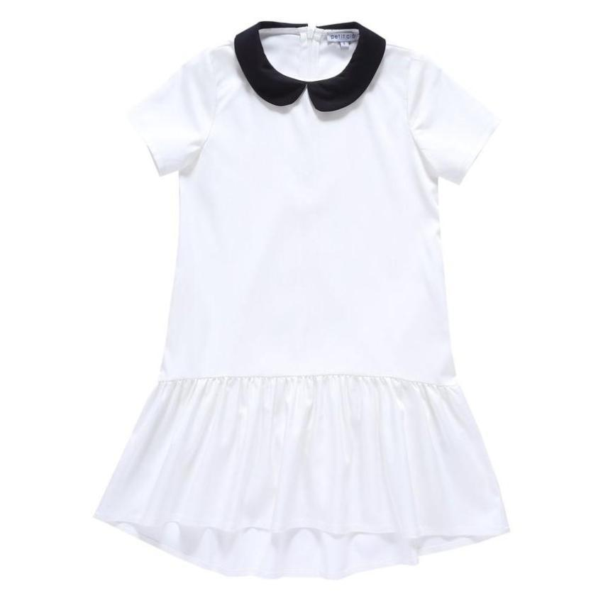 Petit Clair Collar Dress  JellyBeanz Kids