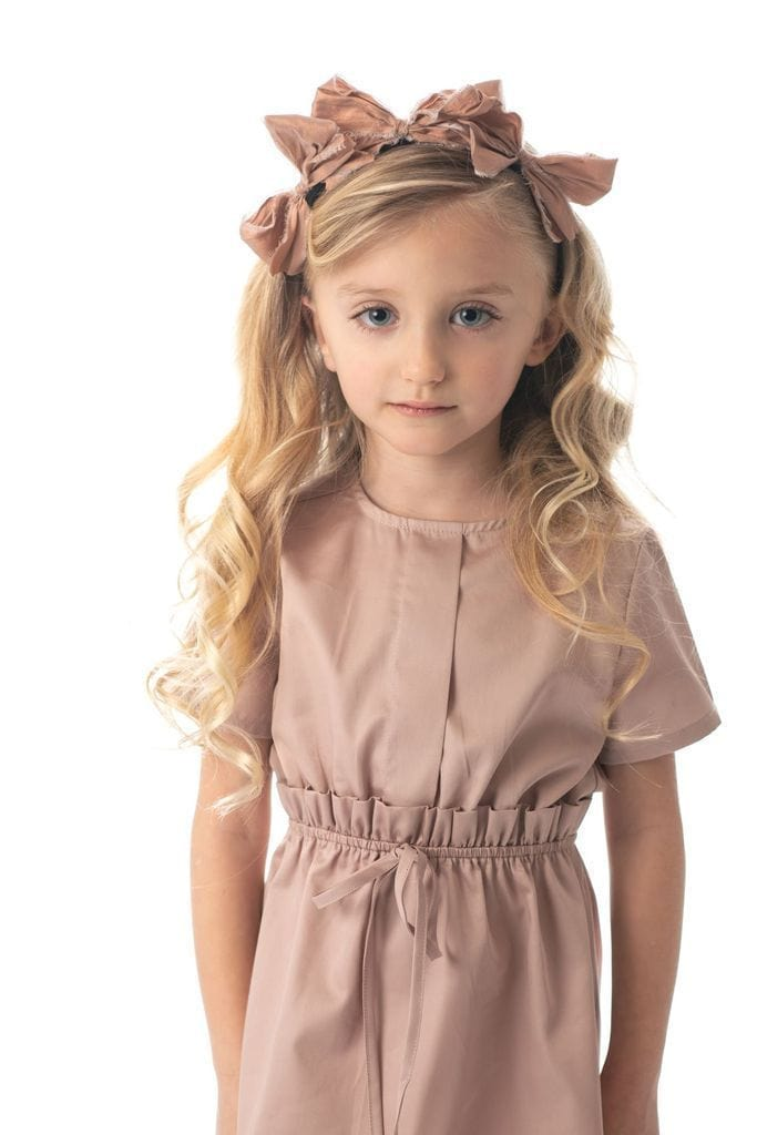 Petit Clair Gathered Dress  JellyBeanz Kids