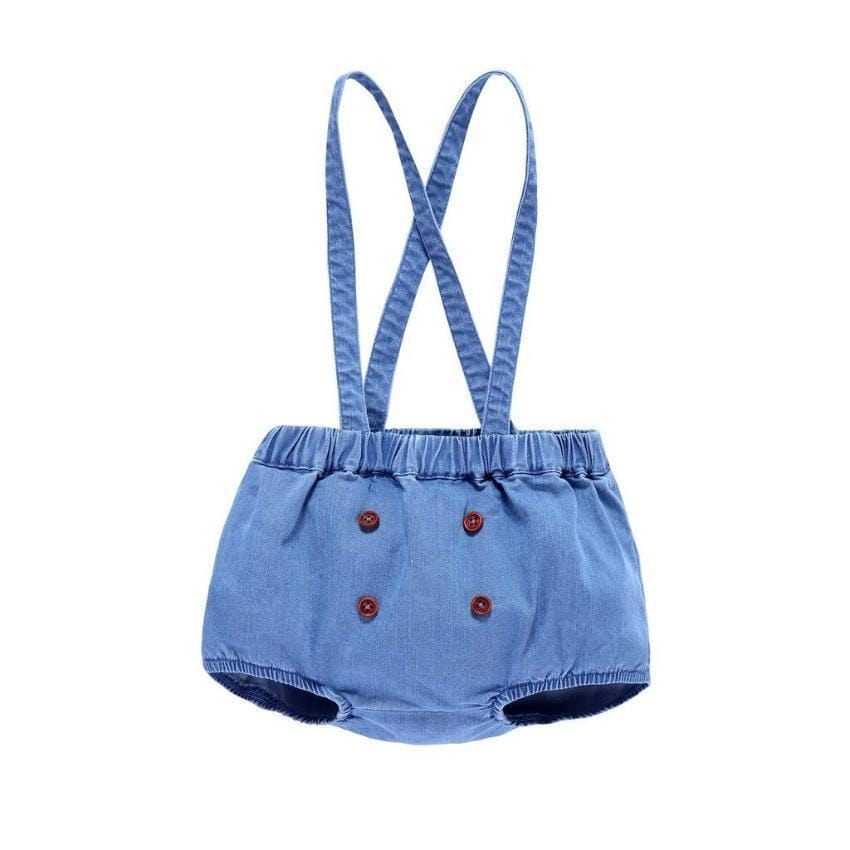 Petit Clair Bloomer with Straps  JellyBeanz Kids