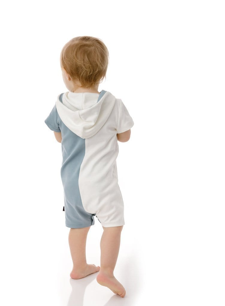 Petit Clair Hooded Romper  JellyBeanz Kids
