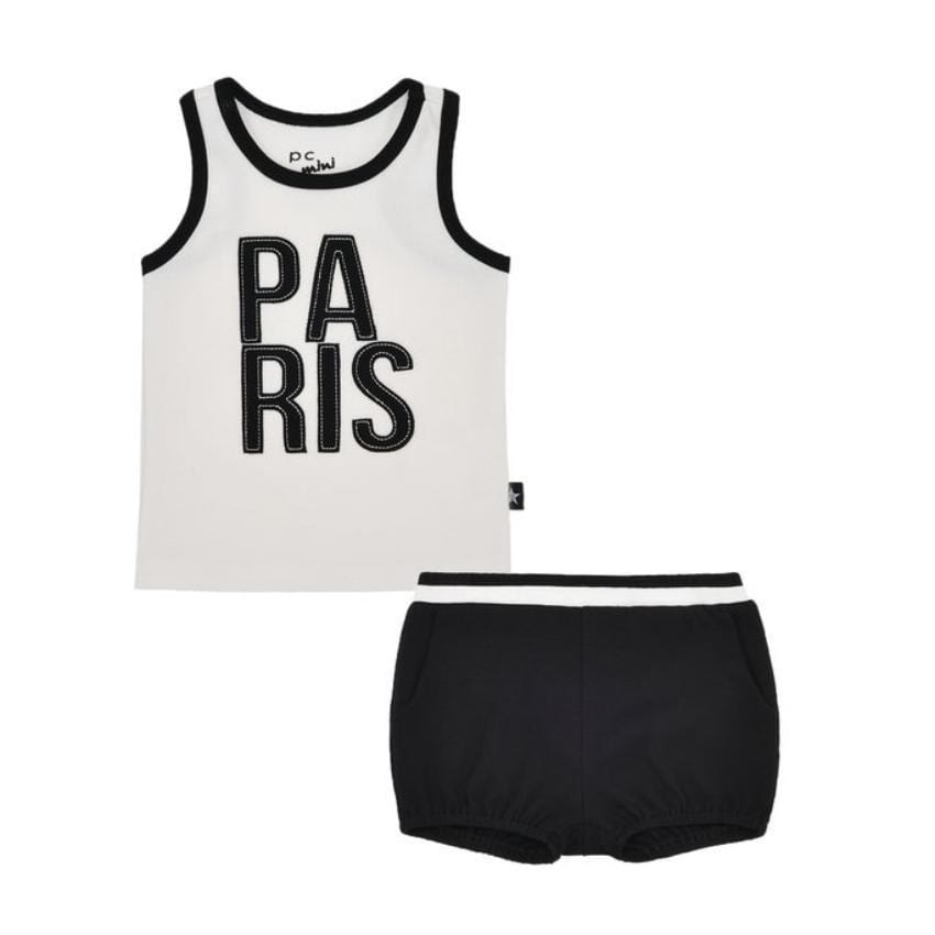Petit Clair Paris Tank Set  JellyBeanz Kids