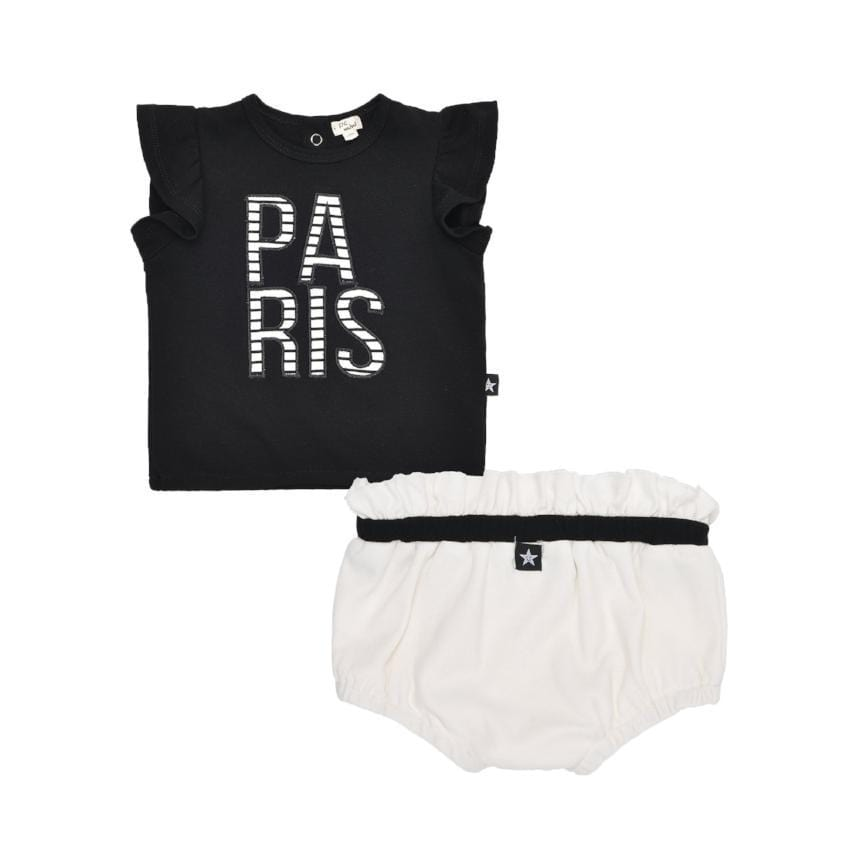 Petit Clair Paris Tee Set  JellyBeanz Kids