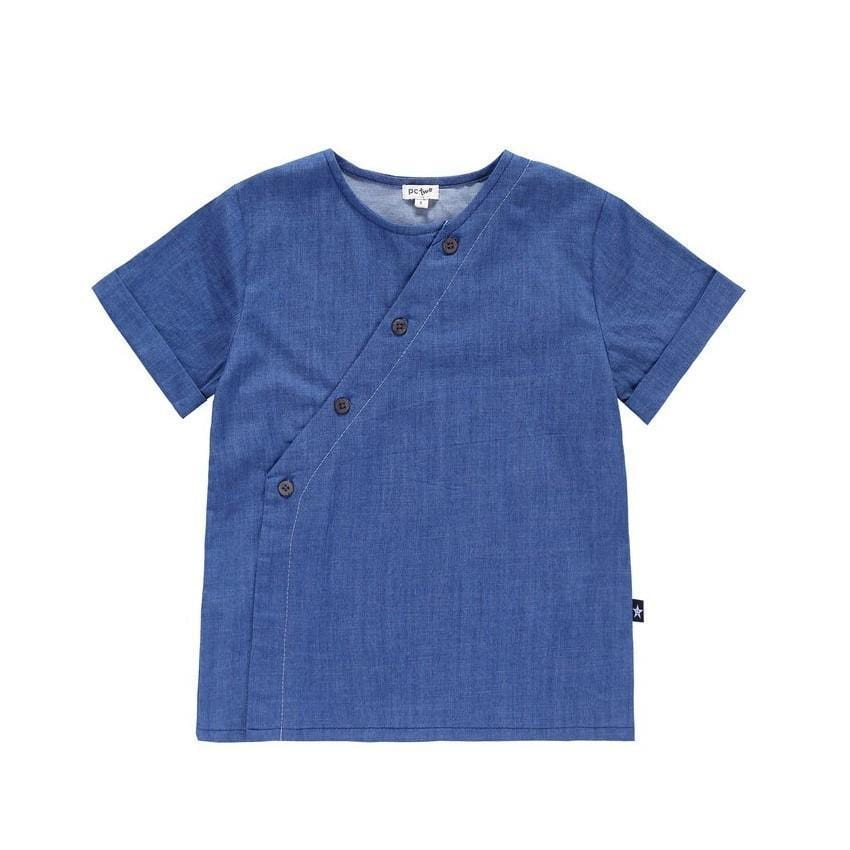 Petit Clair Denim Shirt  JellyBeanz Kids