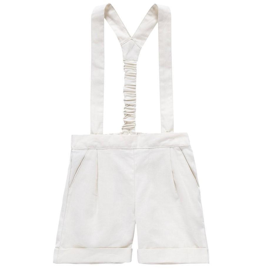 Petit Clair Suspender Shorts  JellyBeanz Kids
