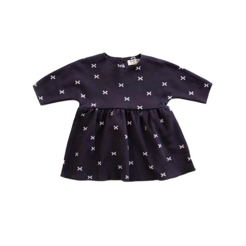 "Play Up DRESS Jellybeanzkids Play Up - Knit ""X"" Dress"