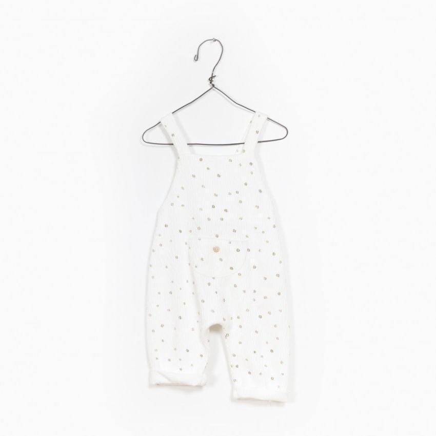 Play Up Printed Jacquard Jumpsuit  JellyBeanz Kids