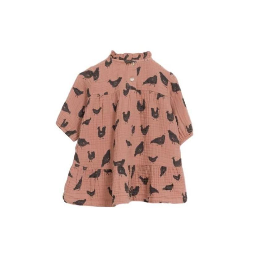 Play Up Shirt Jellybeanzkids Play Up Woven Rooster Dress