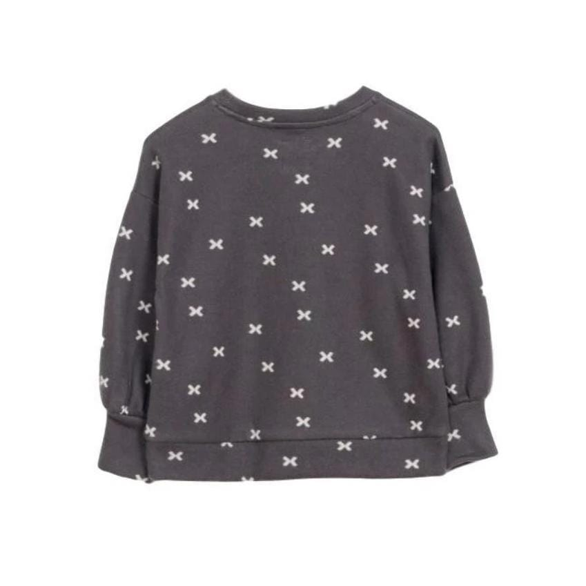 "Play Up Sweater Jellybeanzkids Play Up Knit ""X"" Sweater"