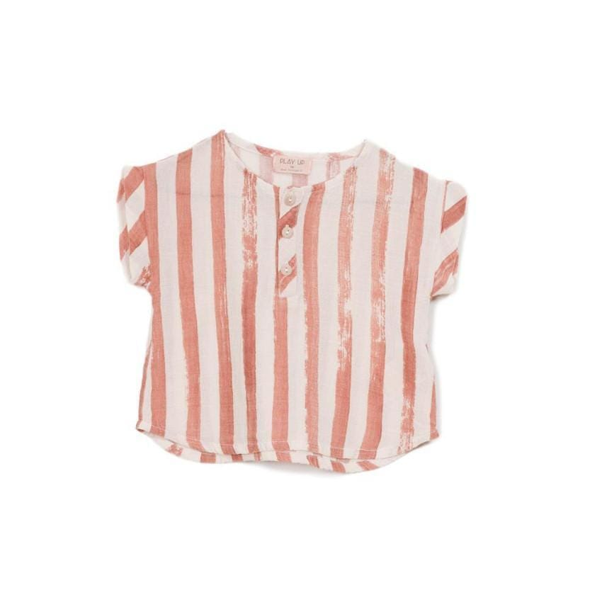 Play Up Brushstroke striped shirt  JellyBeanz Kids