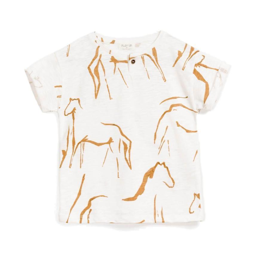 Play Up Off-White Flame Jersey Tee  JellyBeanz Kids