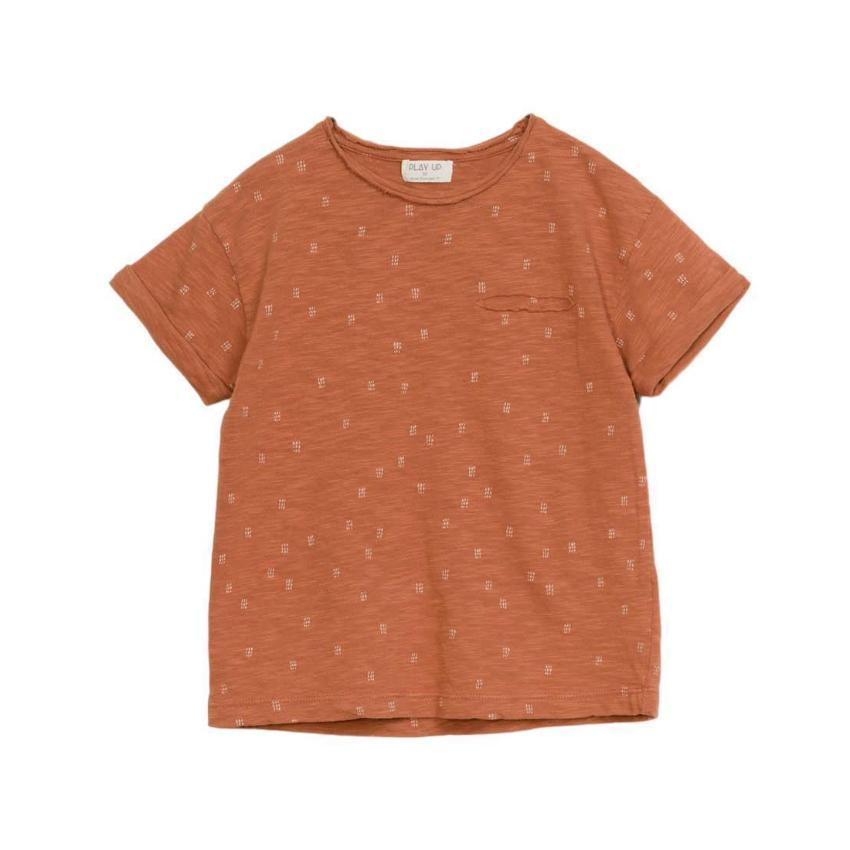 Play Up T-shirt Jellybeanzkids Printed Flame Jersey T-shirt