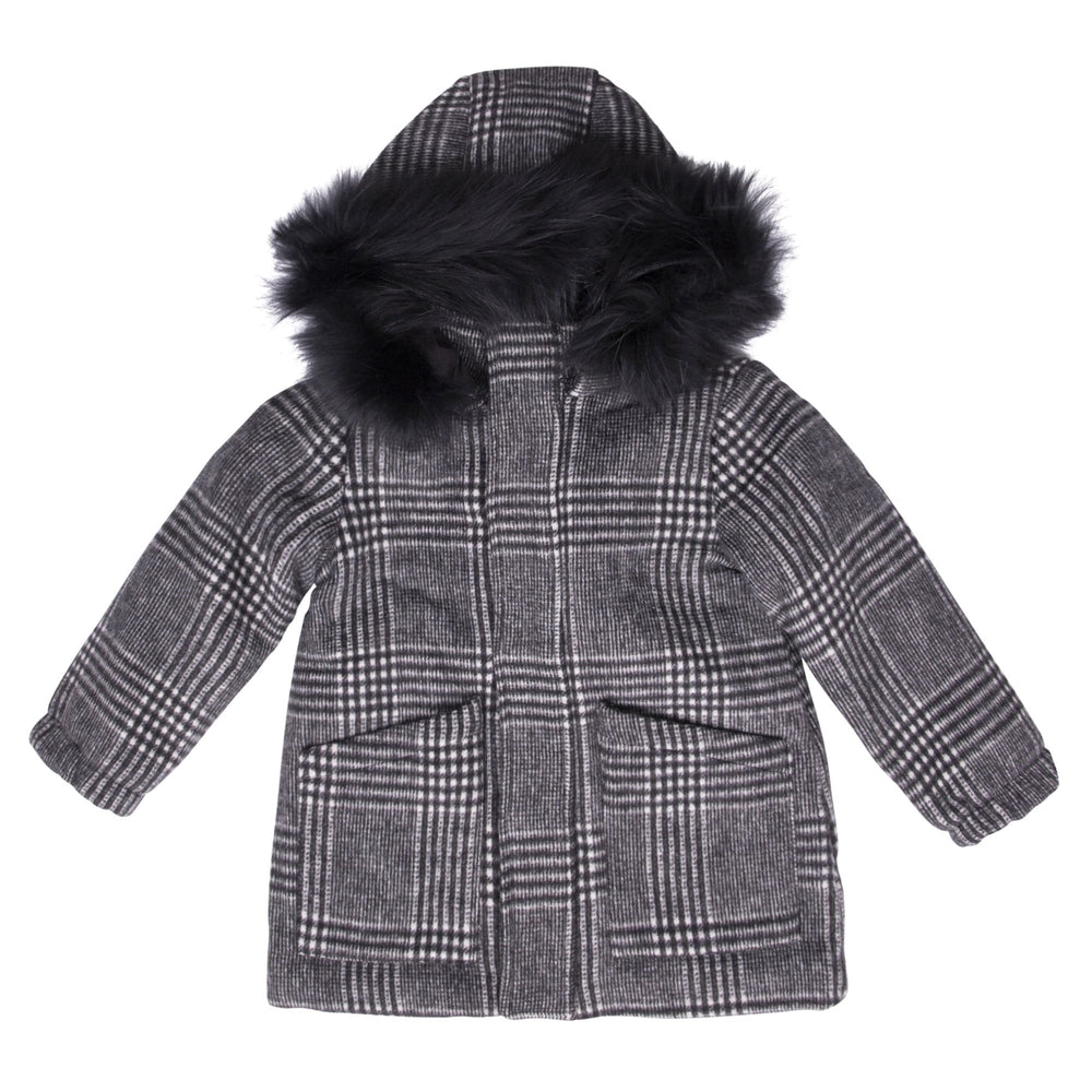 Scotch Bonnet jacket Jellybeanzkids Scotch Bonnet Plaid Wool Coat