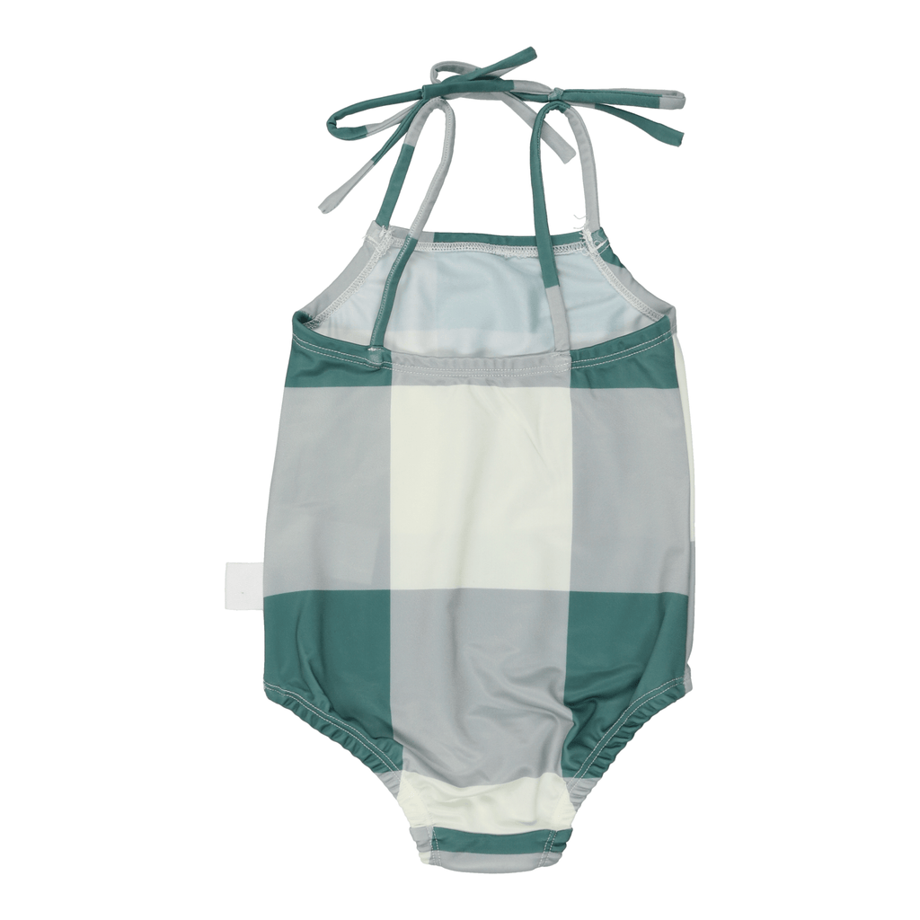 Sparrow Kids Bathing Suit Jellybeanzkids Sparrow Kids Sage Colorblock Girls Bathing Suit