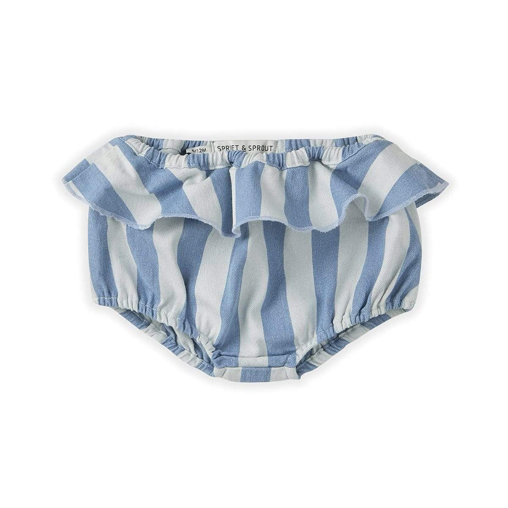 Sproet & Sprout Bloomers Jellybeanzkids Sproet & Sprout Denim Stripe Bloomer