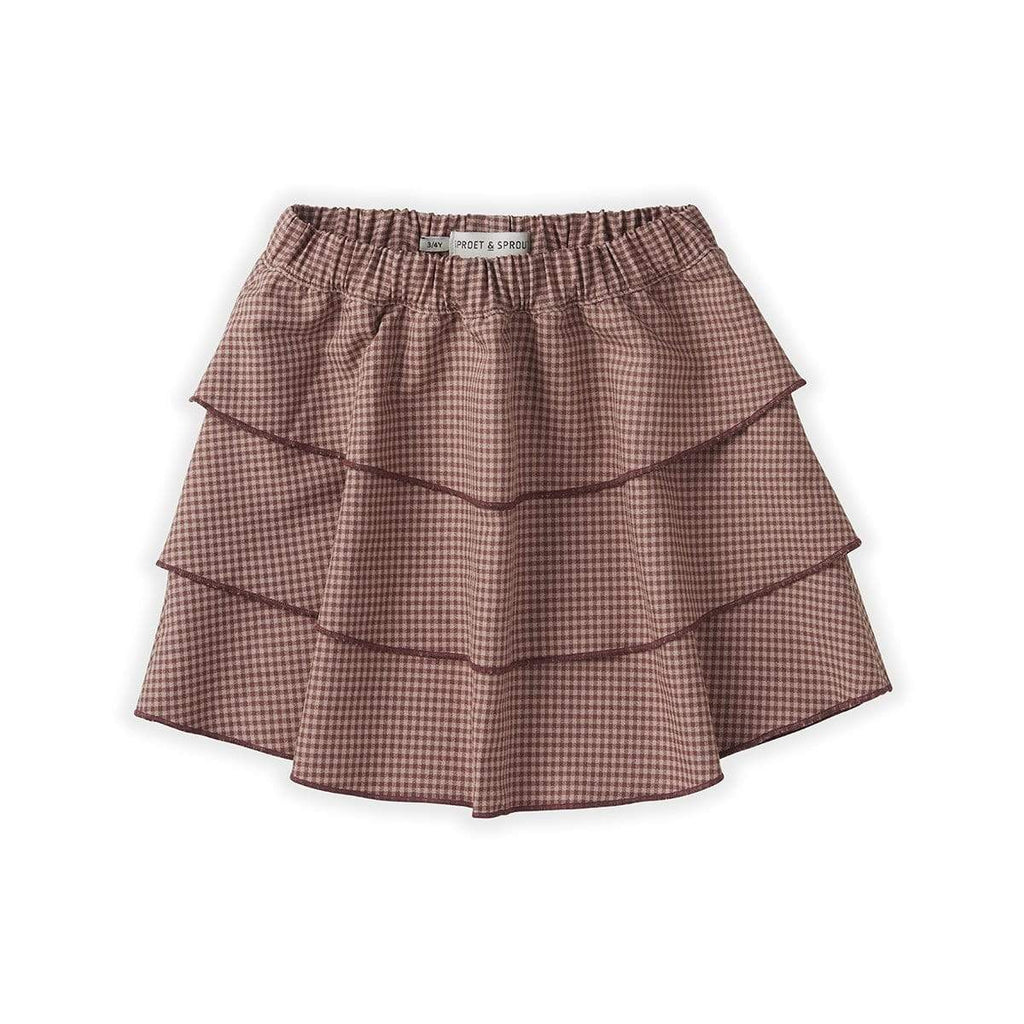 Sproet & Sprout Skirt Jellybeanzkids Sproet & Sprout Mini Check Skirt