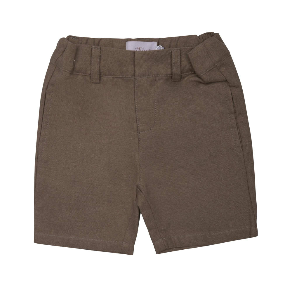 Sweet Threads shorts Jellybeanzkids Sweet Threads Brown Shorts