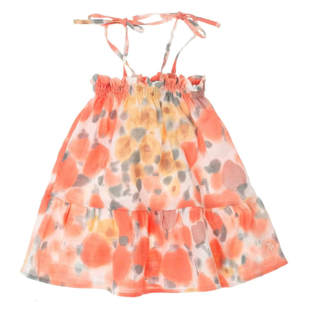 Tocoto Vintage Dress Jellybeanzkids Tocoto Vintage Flower Print Baby Dress