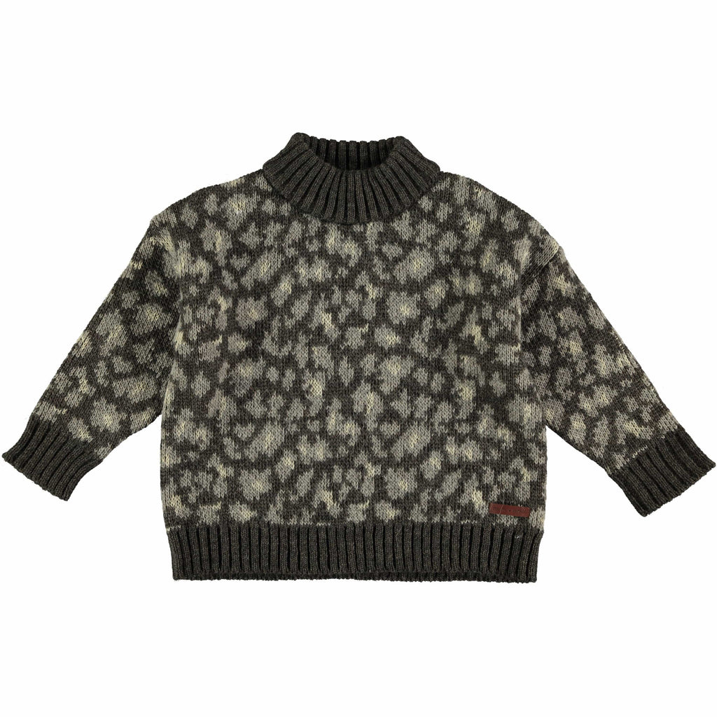 Tocoto Vintage Sweater Jellybeanzkids Tocoto Vintage Animal Print Sweater