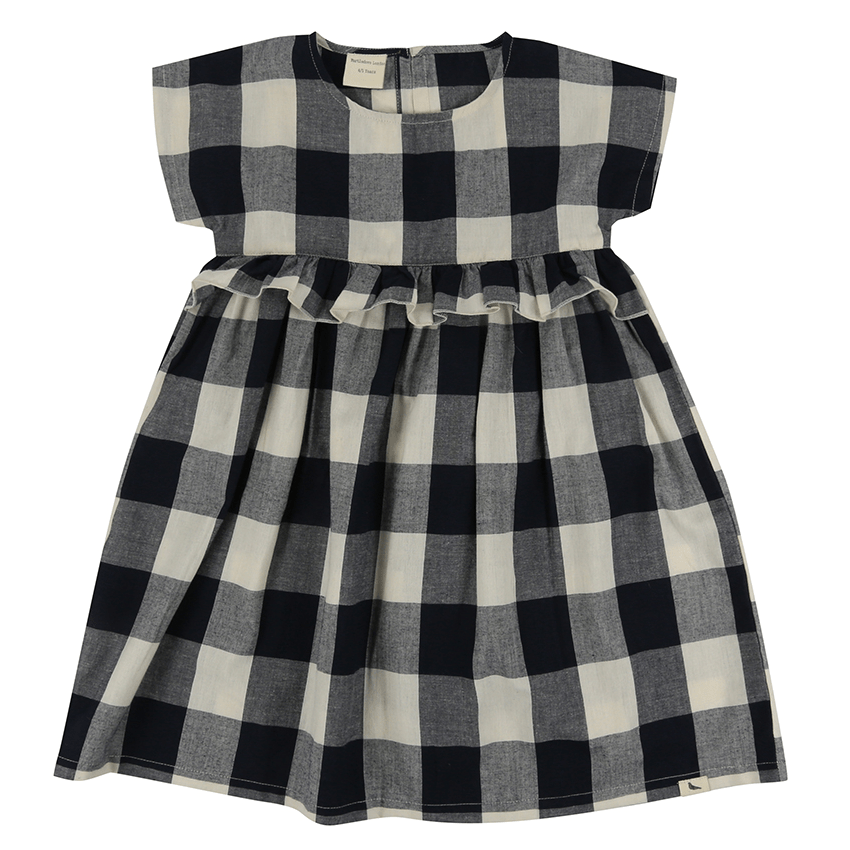 Turtledove London Check Woven Dress  JellyBeanz Kids