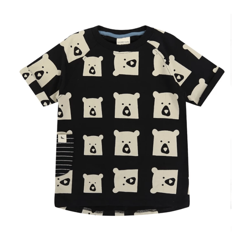 Turtledove London Dress Jellybeanzkids Turtledove London Bear Family Sweat Dress
