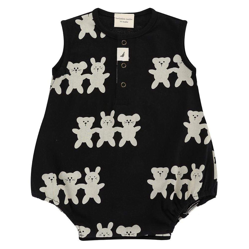 Turtledove London Turtledove London Besties Romper  JellyBeanz Kids