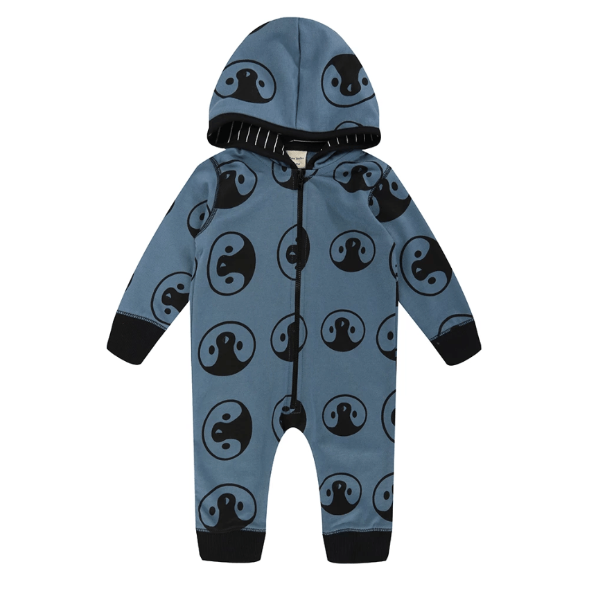 Turtledove London Romper Jellybeanzkids Turtledove London Penguin Hooded Romper