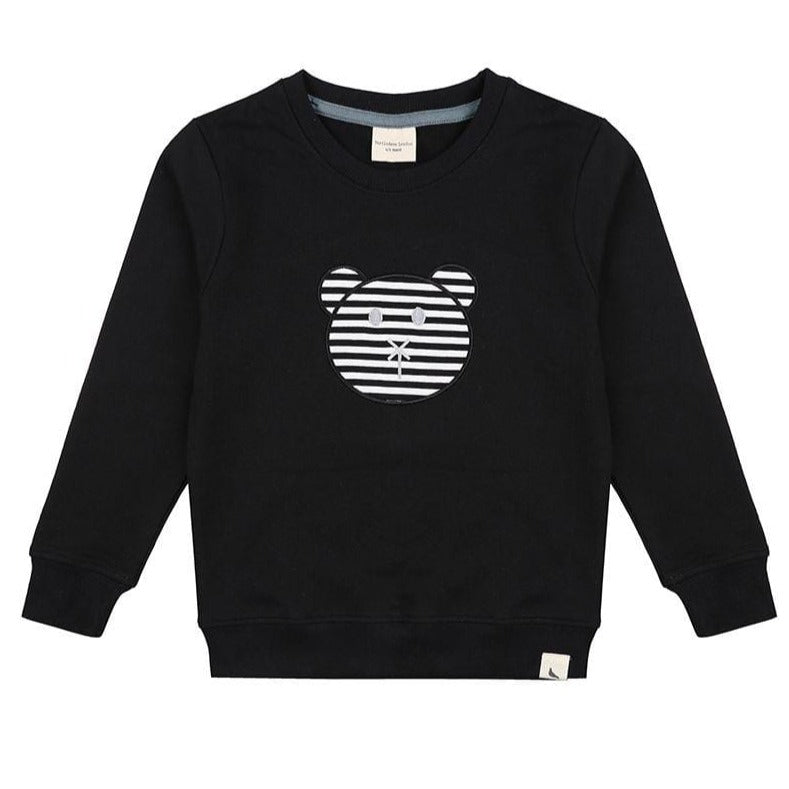 Turtledove London Bear Applique Sweatshirt