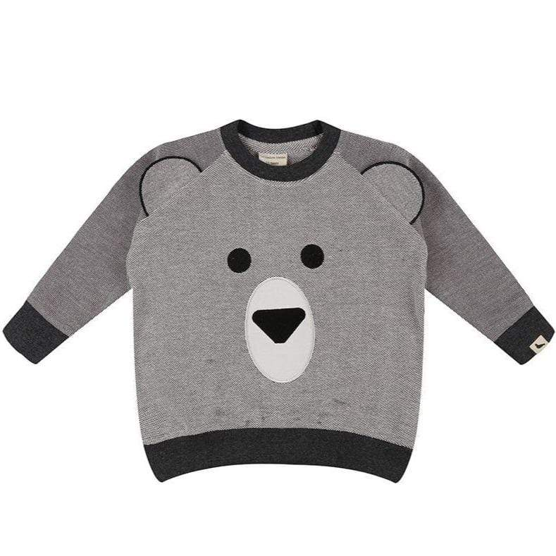 Turtledove London Sweatshirt Jellybeanzkids Turtledove London Bear Face Sweatshirt