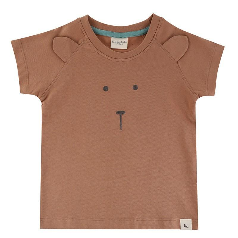 Turtledove London Turtledove London Bear Face Tee  JellyBeanz Kids