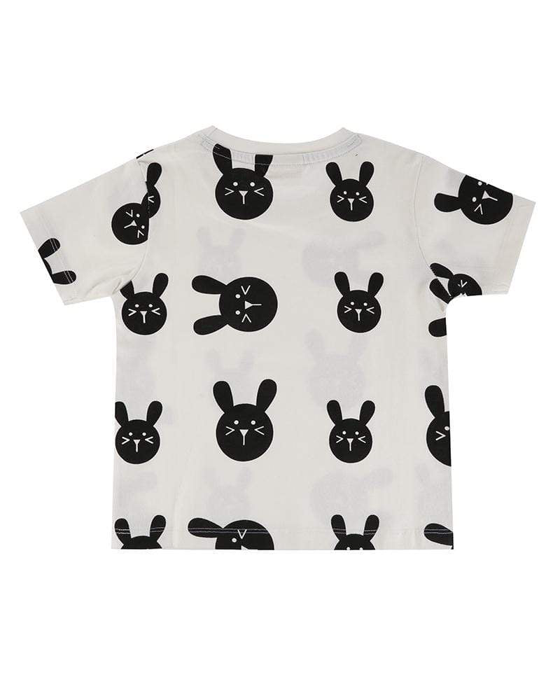 Turtledove London Turtledove London Bunny Tee  JellyBeanz Kids