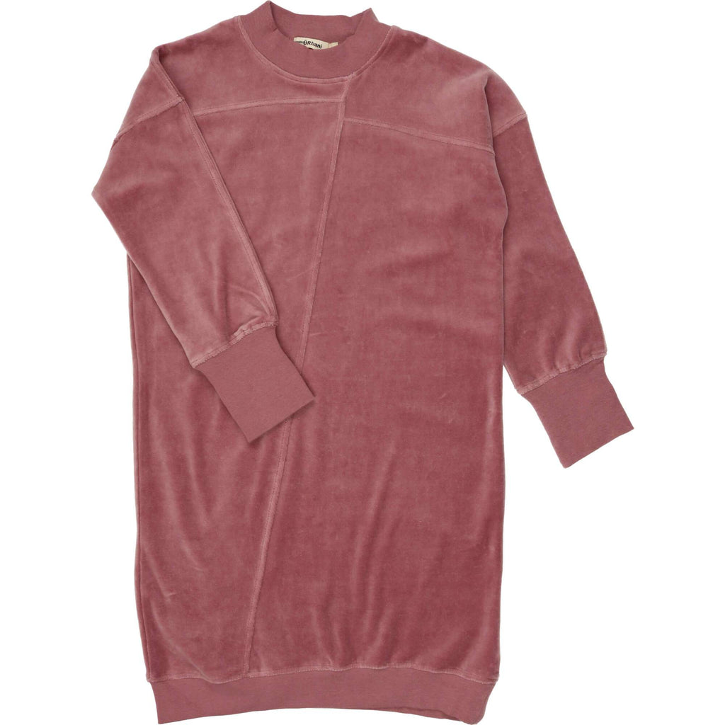 URbani Dress Jellybeanzkids Urbani Mauve Velour Dress