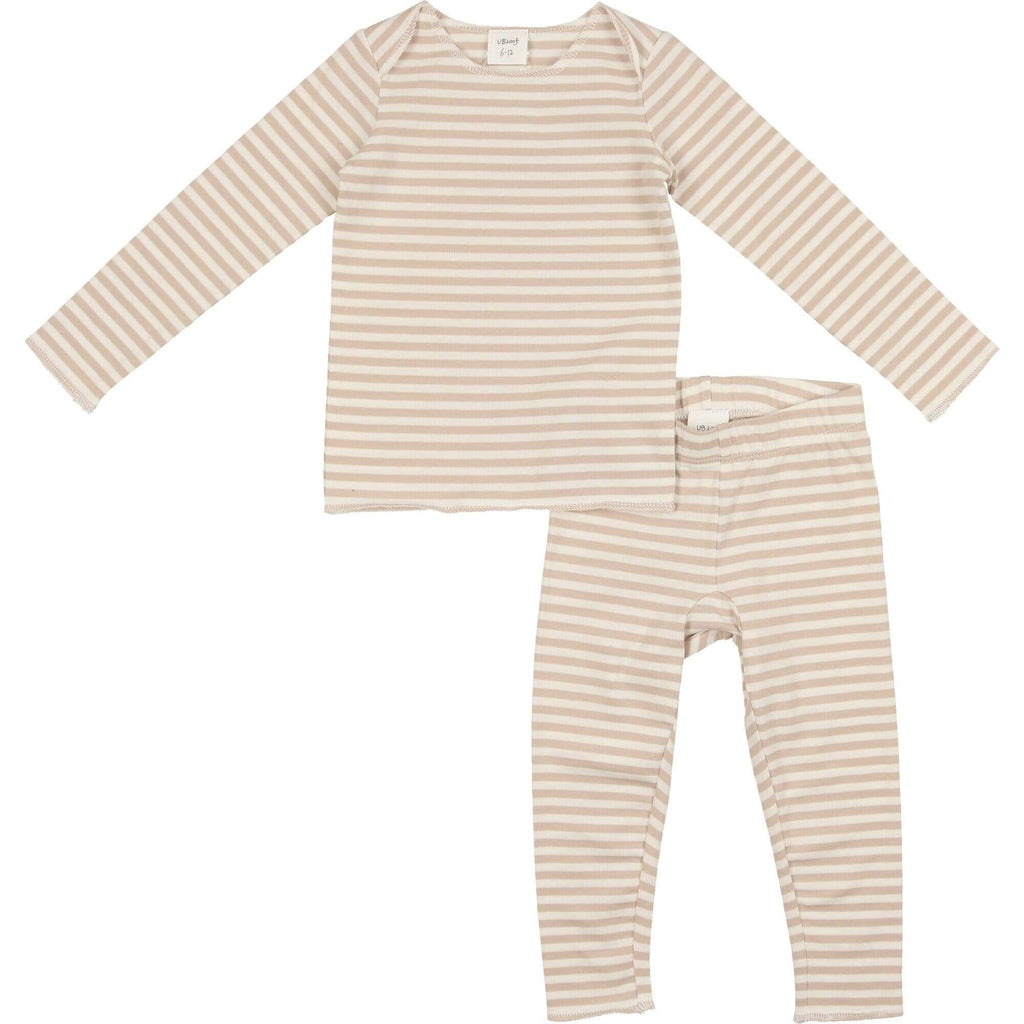 URbani URbani Taupe Long Set  JellyBeanz Kids