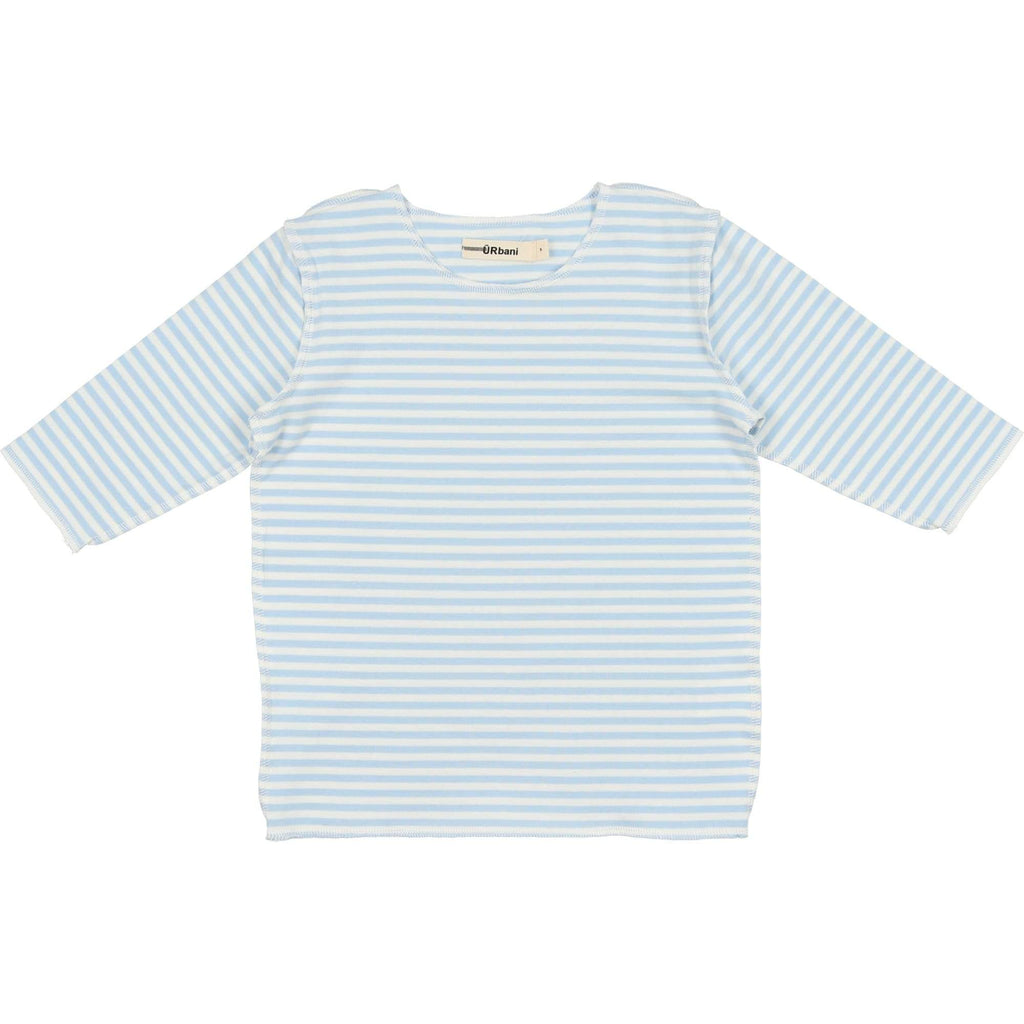 URbani URbani Light Blue 3/4 Sleeve Tee  JellyBeanz Kids