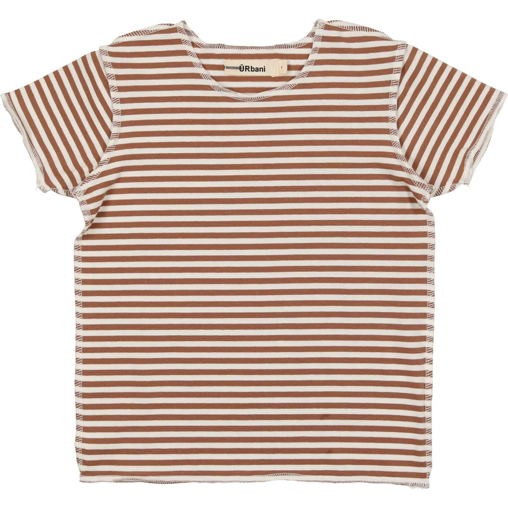 URbani URbani Luggage Short Sleeve Stripe Tee  JellyBeanz Kids