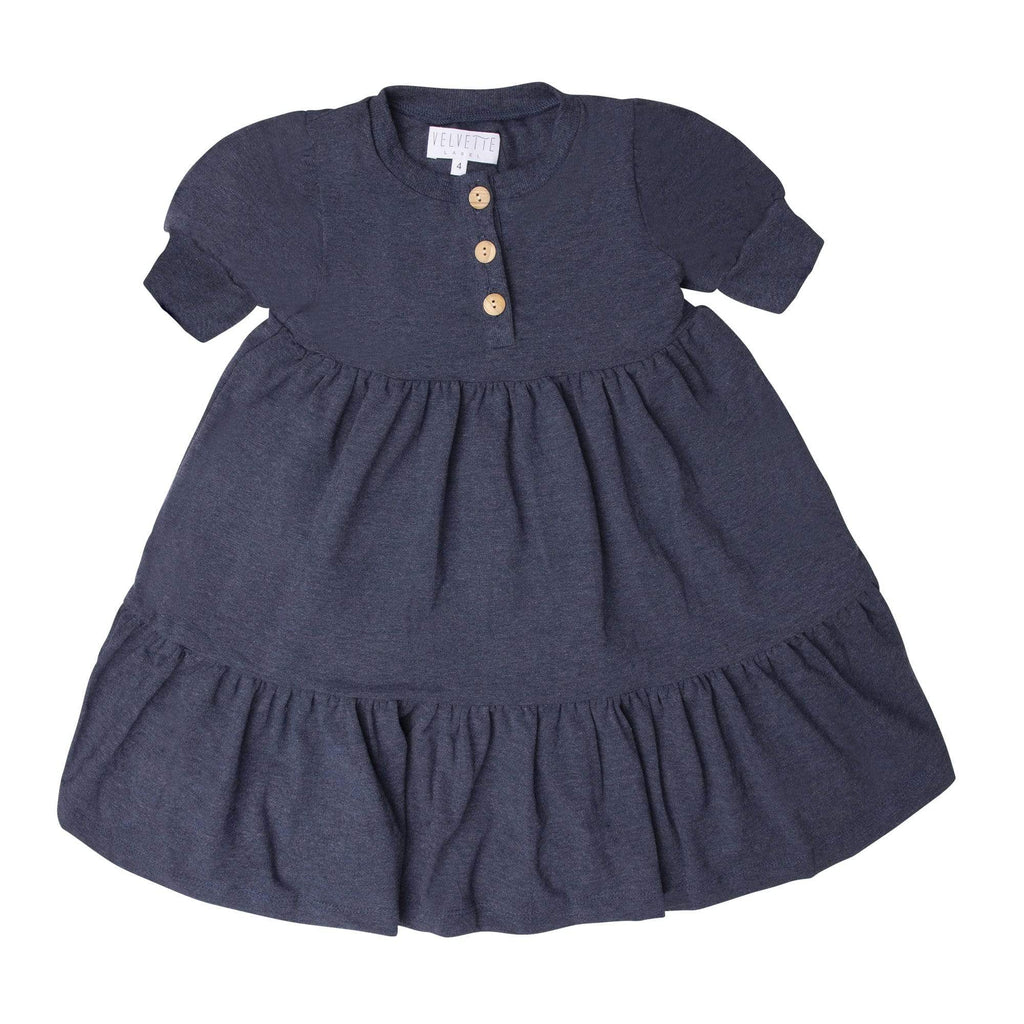 Velvette Label Dress Jellybeanzkids Velvette Label Denim T-Shirt Dress