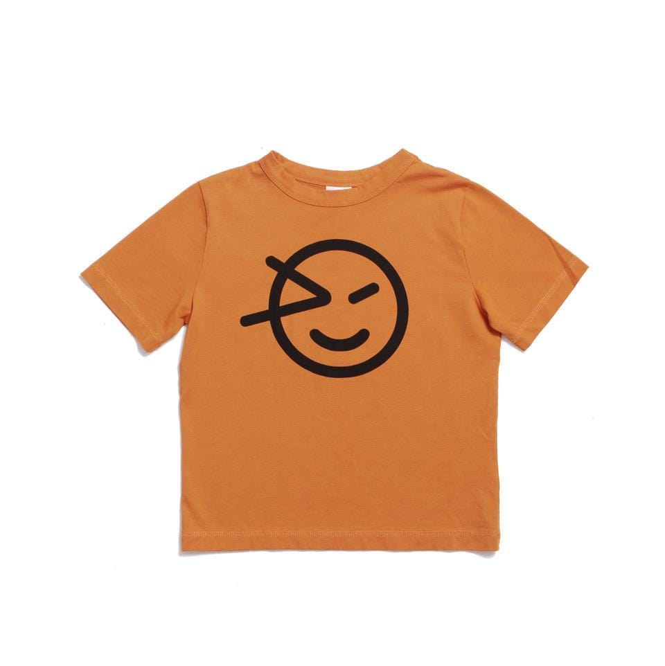 Wynken T-shirt Jellybeanzkids Wynken Burnt Orange T-Shirt