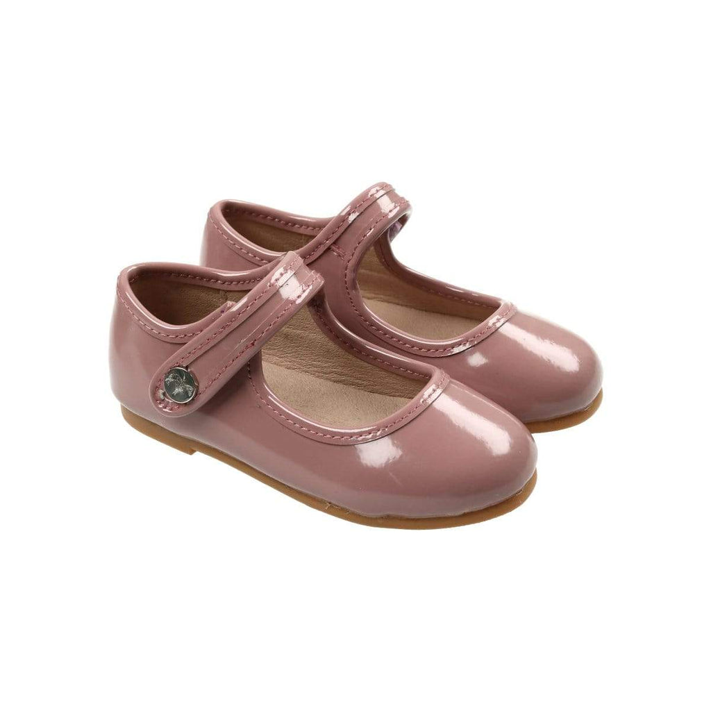 Zeebra Kids Zeebra English Mauve Patent Mary Janes  JellyBeanz Kids